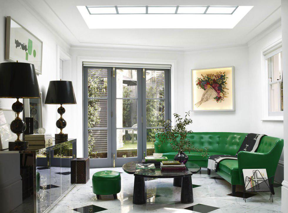 Возможности зеленого цвета в интерьере и правила сочетания с другими тонами