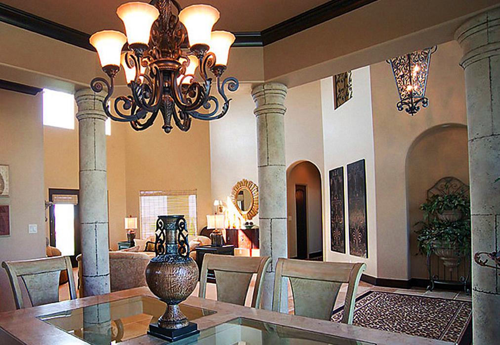Античный и современный греческий стиль в интерьере квартиры или дома.