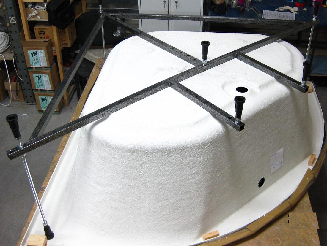 Установка акриловой ванны своими руками – пошаговая инструкция по монтажу