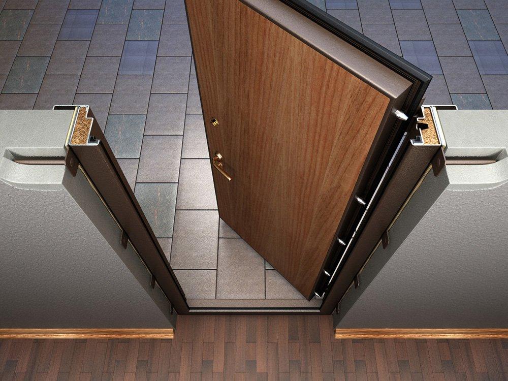 Изготовление и монтаж второй входной двери