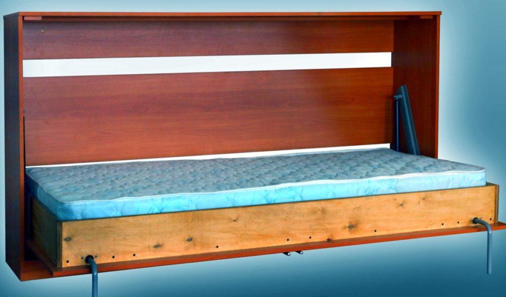 Как сделать откидную односпальную кровать
