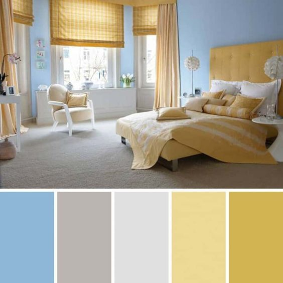 Правила сочетания цветов в интерьере: 75 фото цветовых сочетаний