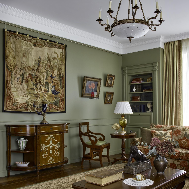 Английский стиль в интерьере: аристократично, сдержанно и изысканно (50 фото)