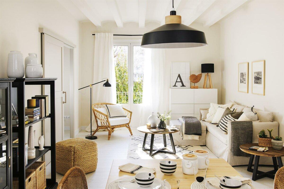Как обустроить интерьер квартиры в скандинавском стиле