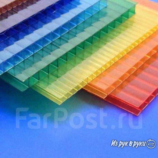 Размеры поликарбоната: стандартная длина, ширина, толщина листов сотового и монолитного полимера