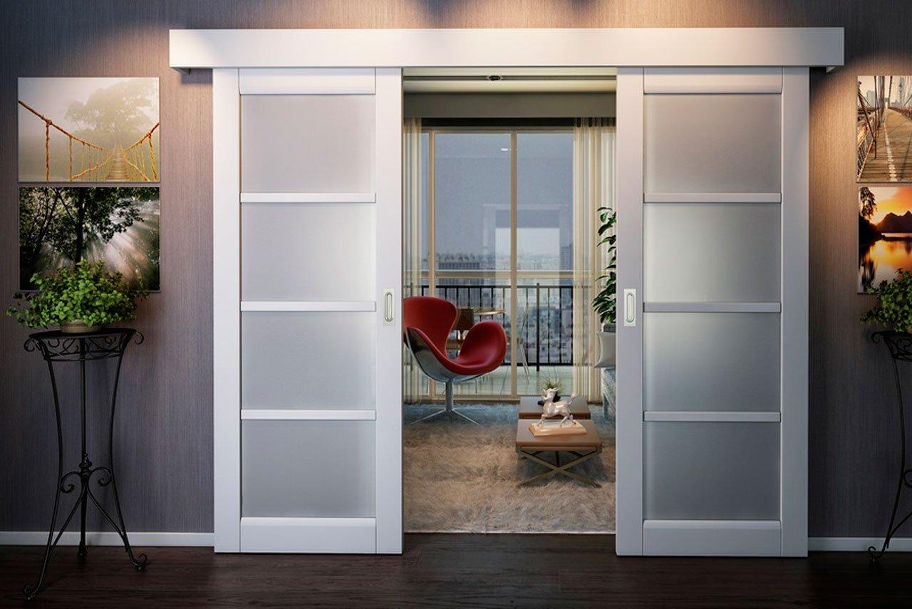 Виды раздвижных дверей и особенности их конструкции