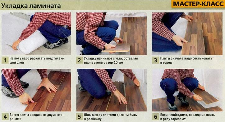 Подготовка пола под ламинат: особенности подготовительных работ, монтаж своими руками, пошаговый процесс работ