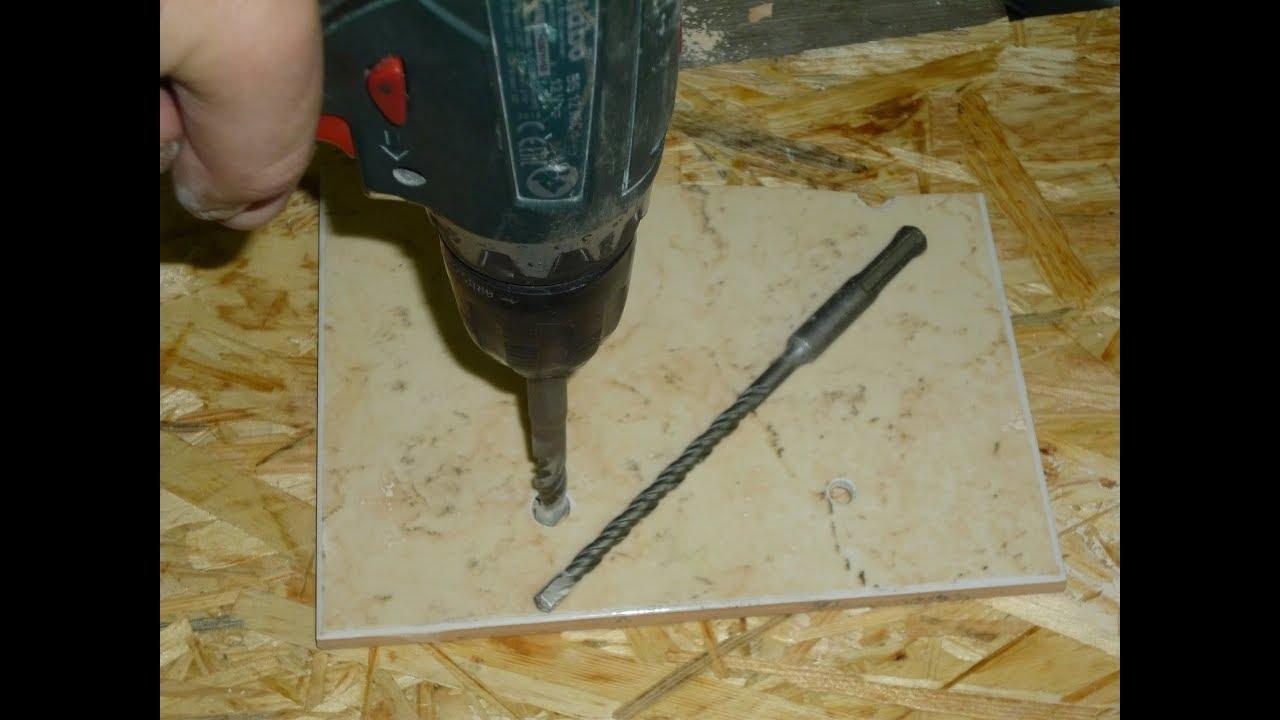 Особенности сверления керамогранита и твёрдой плитки с помощью алмазных коронок