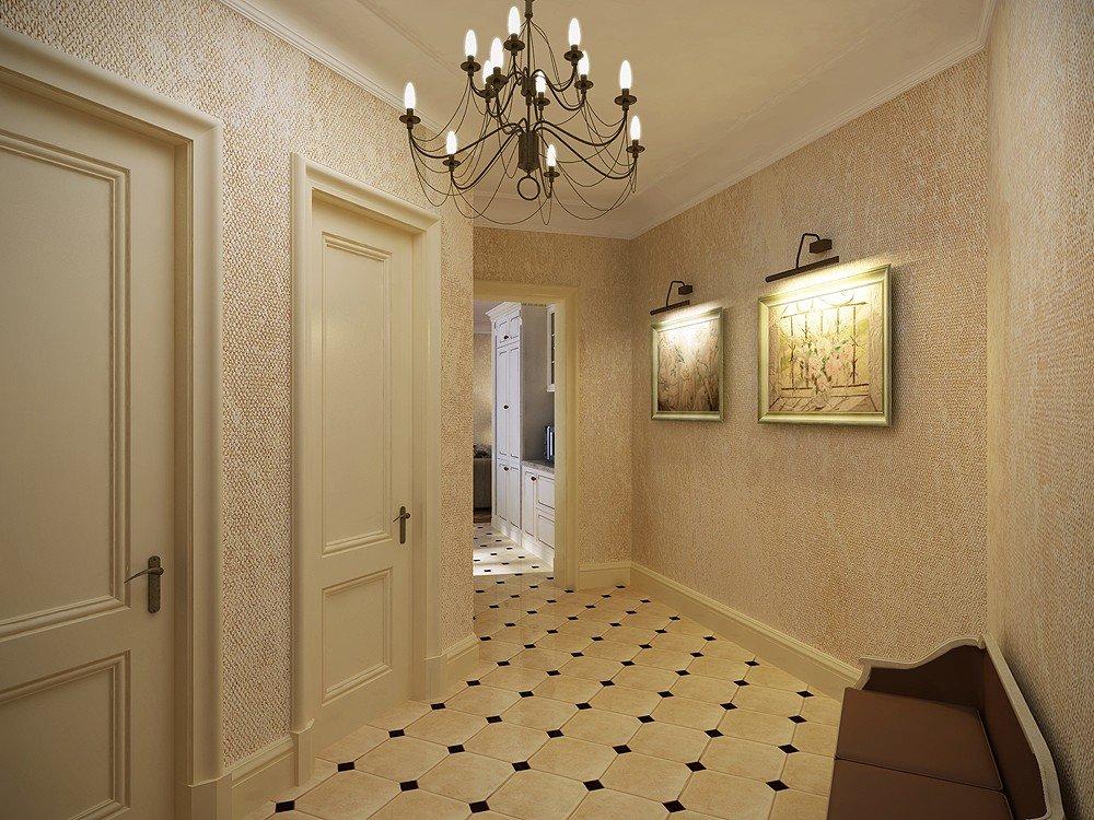 Как выбрать красивые обои в прихожую - как правильно украсить коридор при помощи обоев (100 фото)