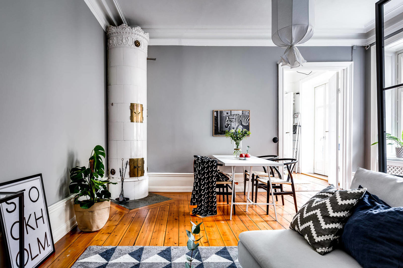 Дизайн интерьера дома или квартиры в скандинавском стиле - черты, идеи, фото