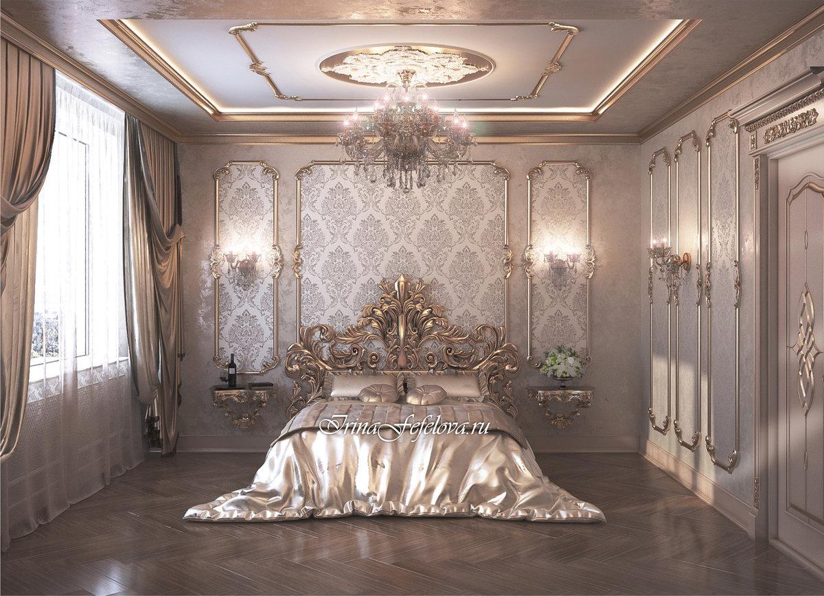 Стиль барокко в интерьере — 78 фото идей роскошного дизайна