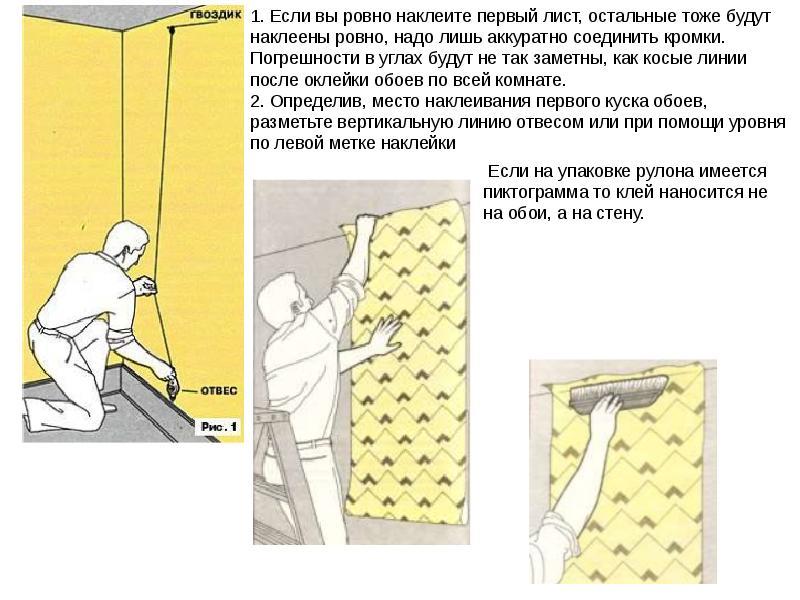Как клеить обои встык без щелей и расхождения: как правильно работать с виниловыми и флизелиновыми, а также в углах, можно ли разместить бумажный материал внахлест?