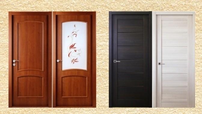 Двери с какой отделкой лучше: шпонированные, ламинированные или с ПВХ пленкой