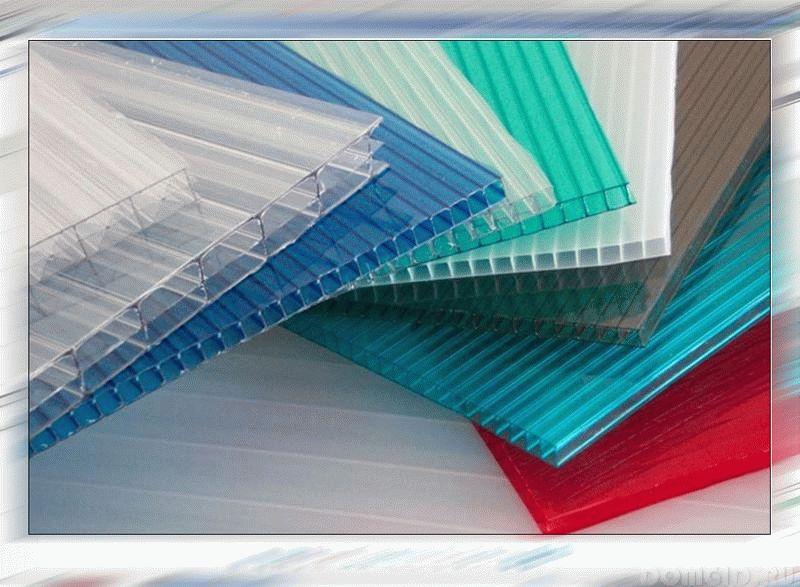 Виды поликарбоната: структура, размеры и цветовая гамма листов