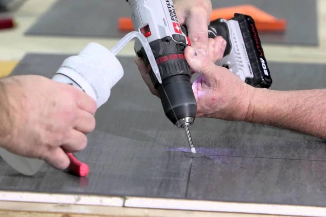 А вы умеете правильно сверлить керамогранит, используя подходящие инструменты?