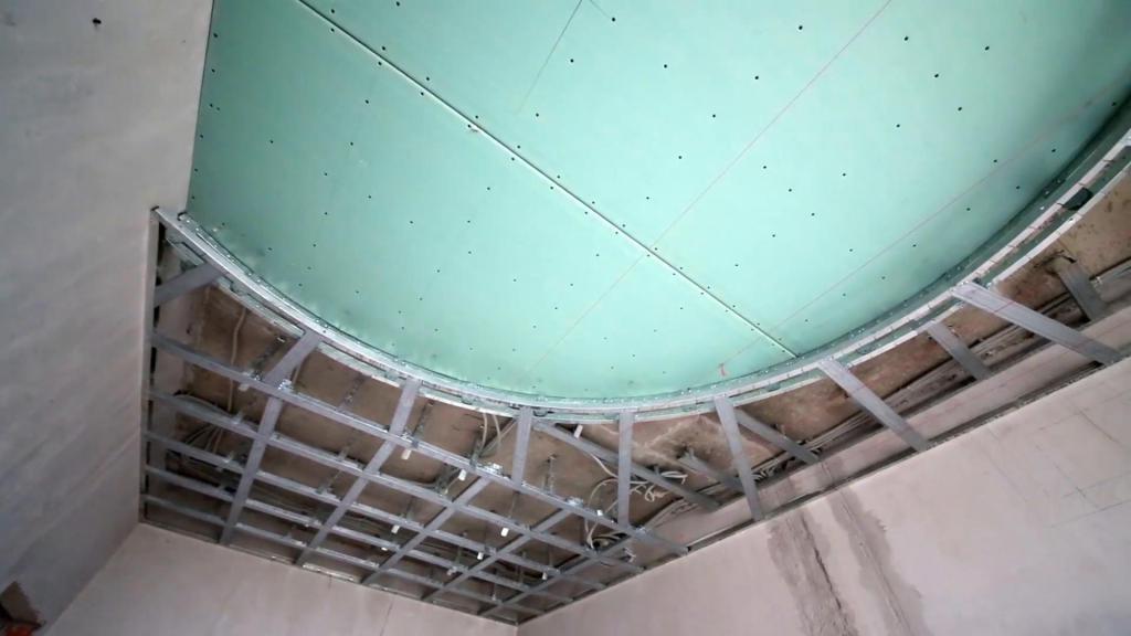 Потолок из гипсокартона своими руками | пошаговая инструкция