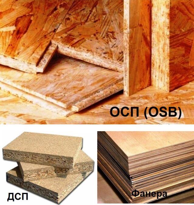 Что лучше фанера или ОСБ – сравнение материалов