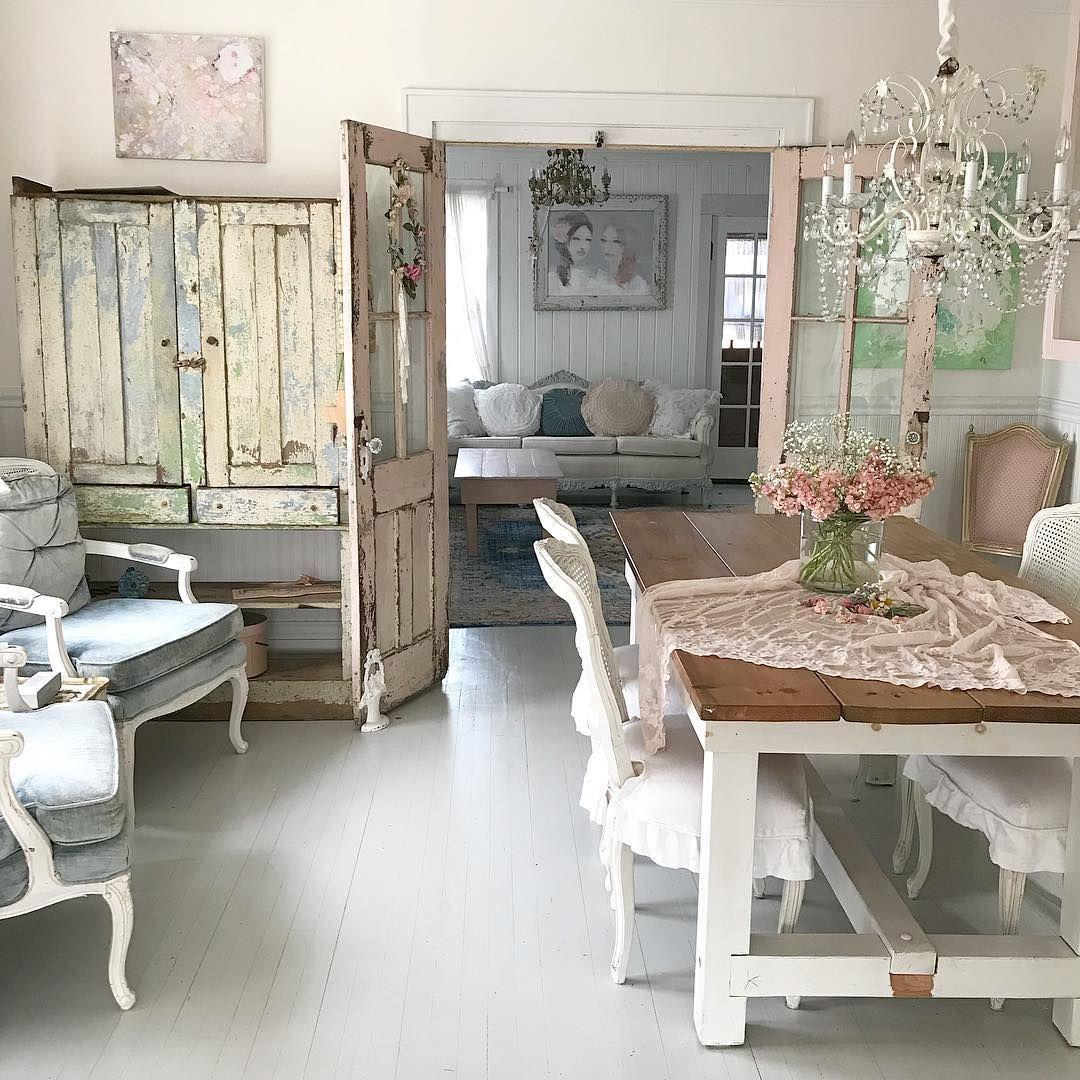 Интерьер в стиле шебби-шик | home-ideas.ru