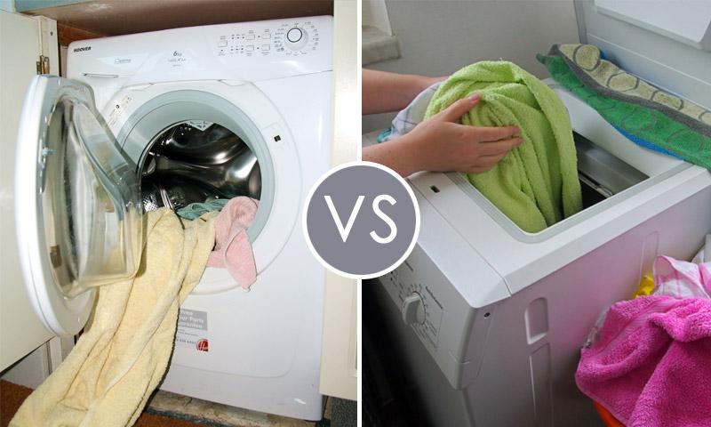Вертикаль чистоты: обычная стиральная машина против вертикальной