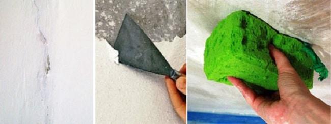 Подробная инструкция, как сделать побелку потолка мелом своими руками
