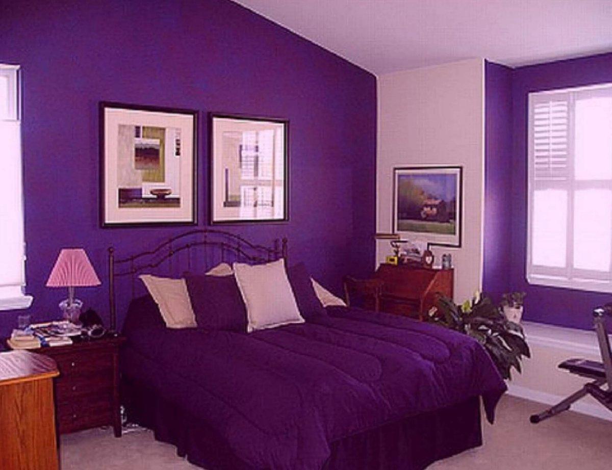 Сиреневый цвет в интерьере: рекомендации, сочетаемость - 75 фото