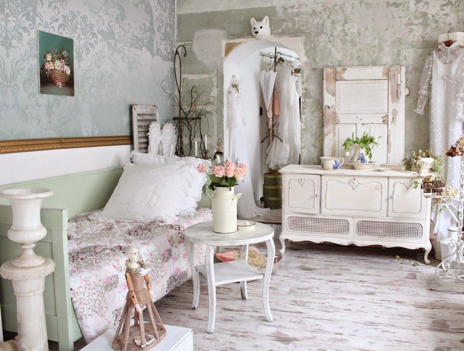 Дизайн спальни в стиле шебби шик - особенности выбора мебели и текстиля, советы и фото идеи