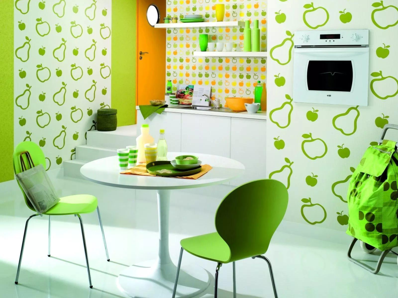 Обои для маленькой кухни: какие выбрать под дизайн небольшого помещения