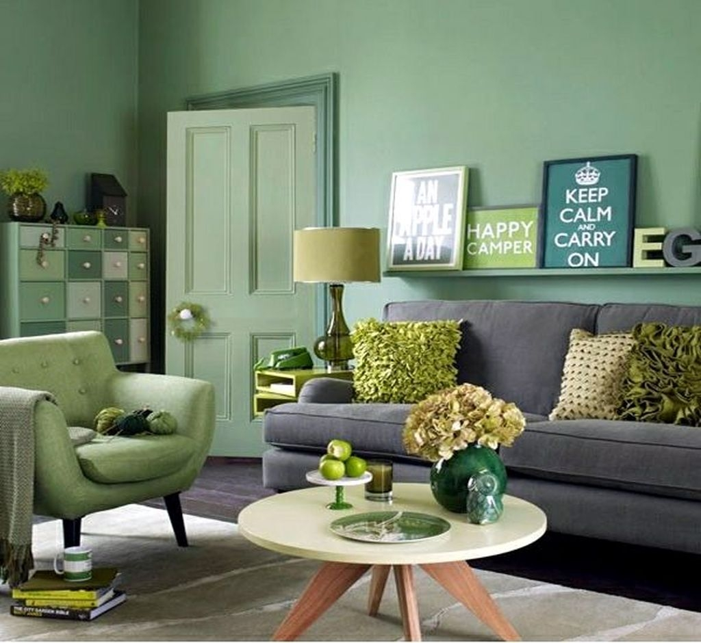 75 сочетаний зеленого с другими цветами в интерьере