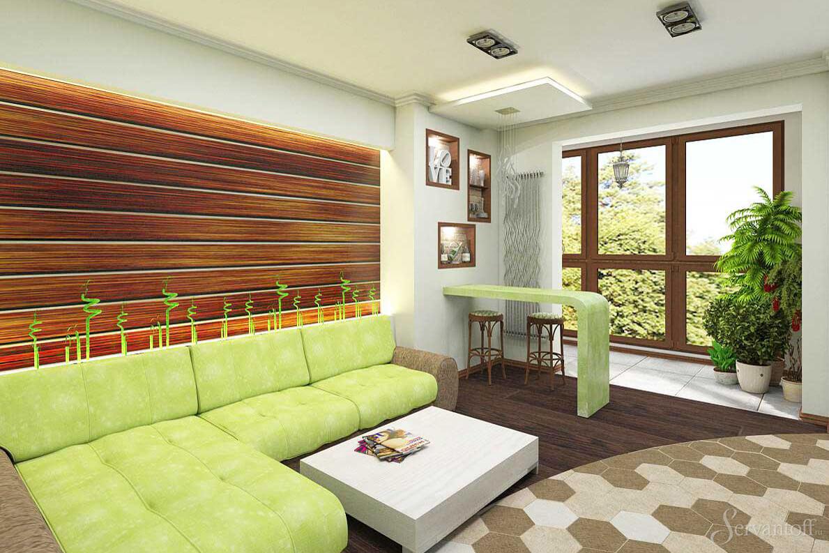 Эко стиль в дизайне интерьера (фото): нюансы и детали