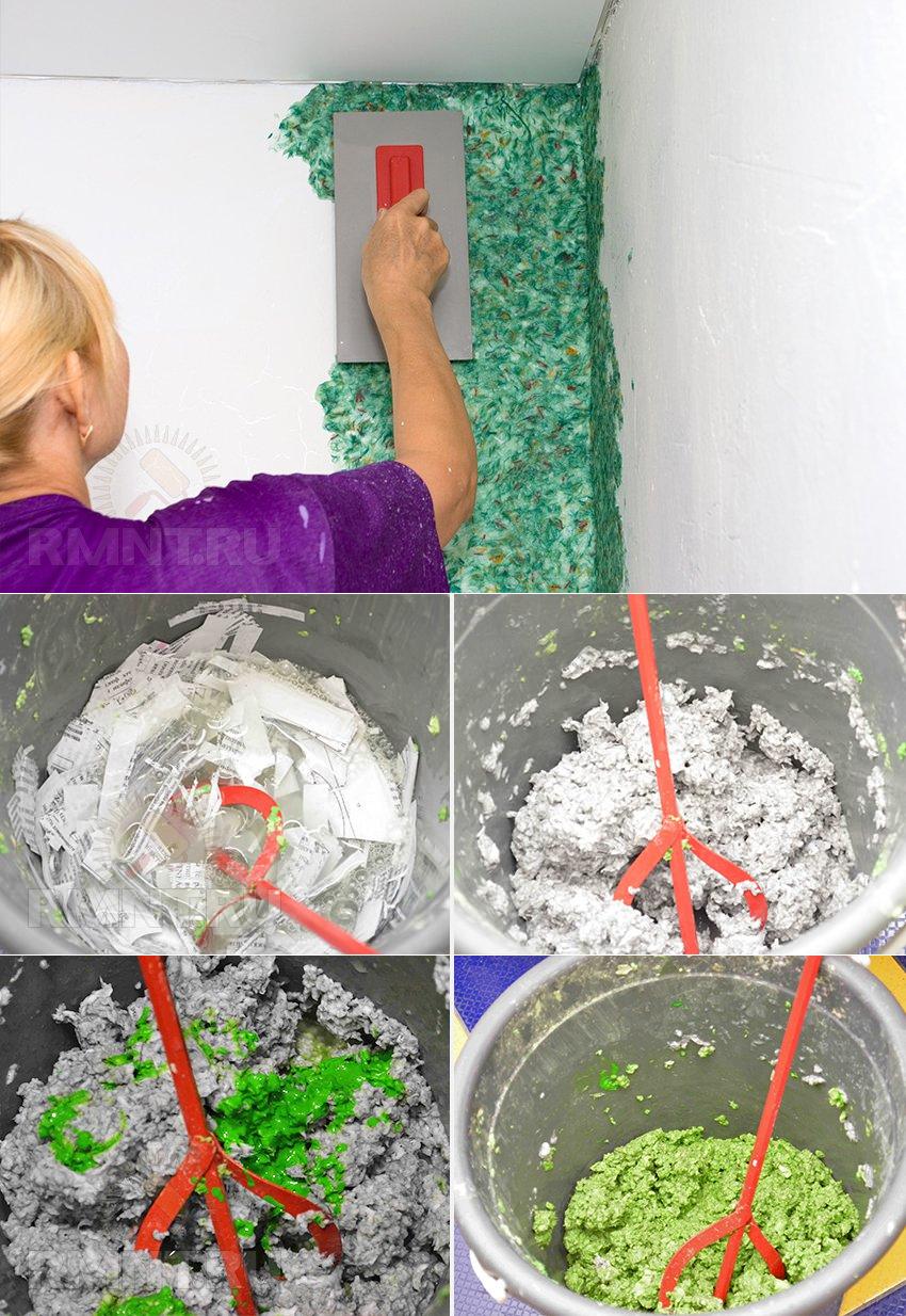 Как наносить жидкие обои на стену или потолок своими рукамив домашних условиях: фото и описание, как самостоятельно сделать такую работу и затем правильно ухаживать