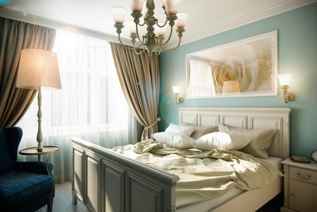 Спальня в стиле прованс: особенности оформления, цвета, декор, мебель, текстиль