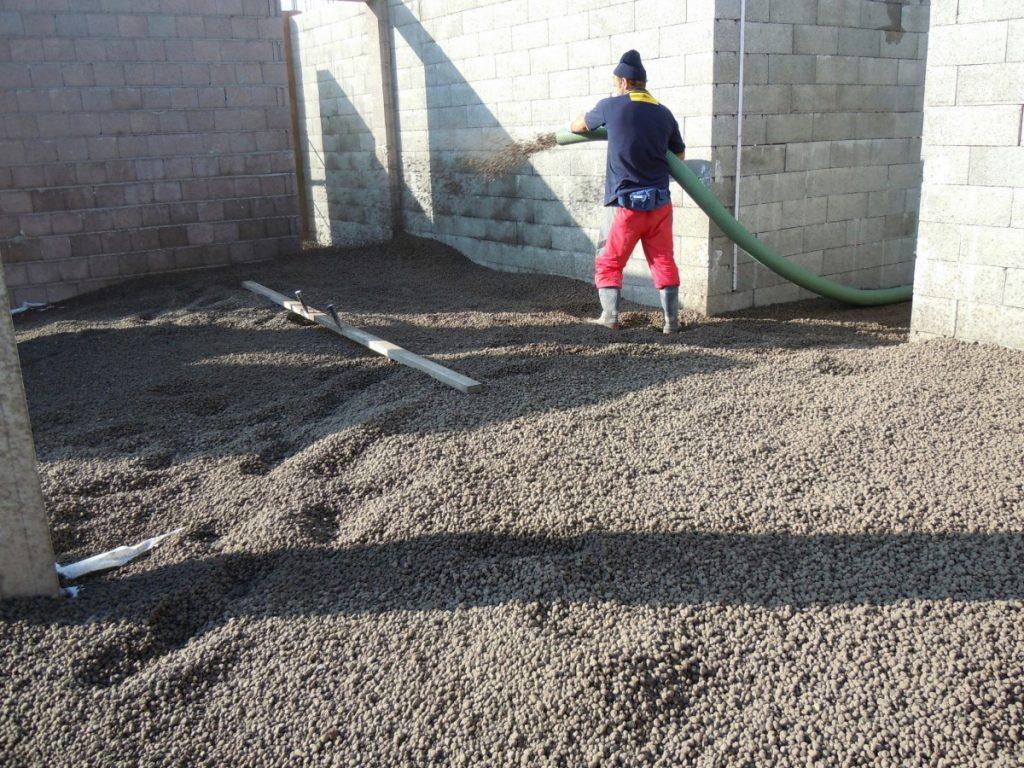 Керамзит в строительстве — коэффициент теплопроводности