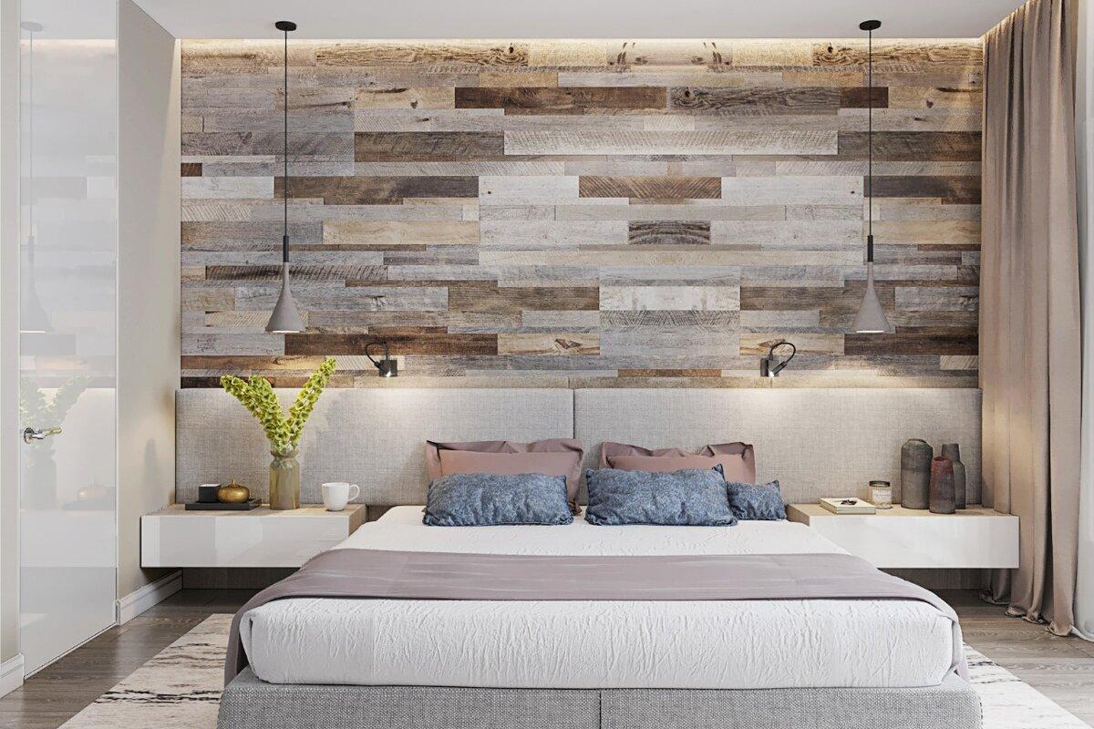 Как использовать ламинат на стене в интерьере различных помещений