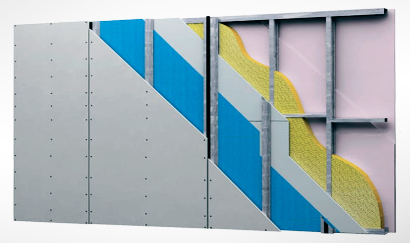 Бескаркасная шумоизоляция стен: звукоизоляция в квартире современными материалами, монтаж  системы «слим п»