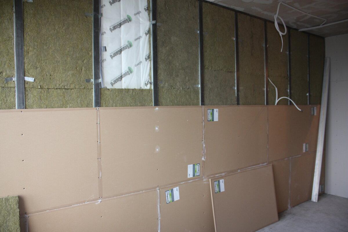 Шумоизоляция стен в квартире: современные материалы