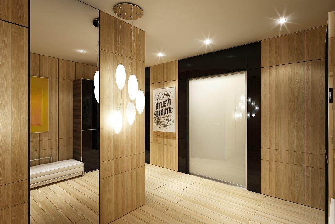 Оформление интерьера квартиры в стиле модерн