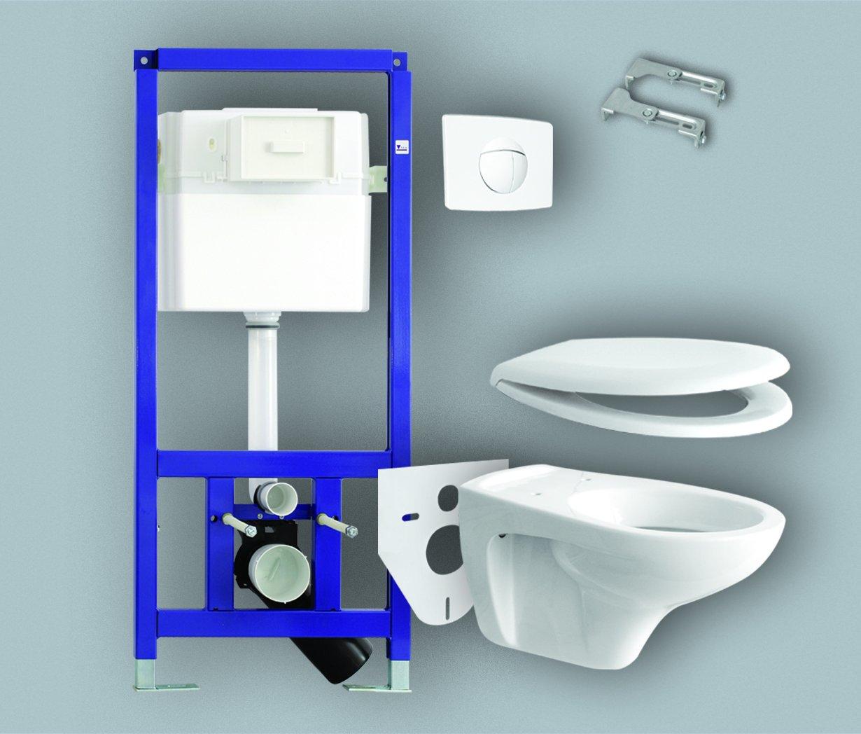 Инсталляция для туалета: как выбрать инсталляцию для подвесного унитаза