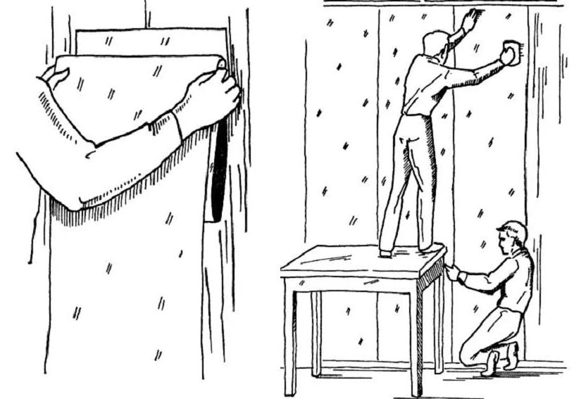 Как клеить флизелиновые обои - пошаговая инструкция