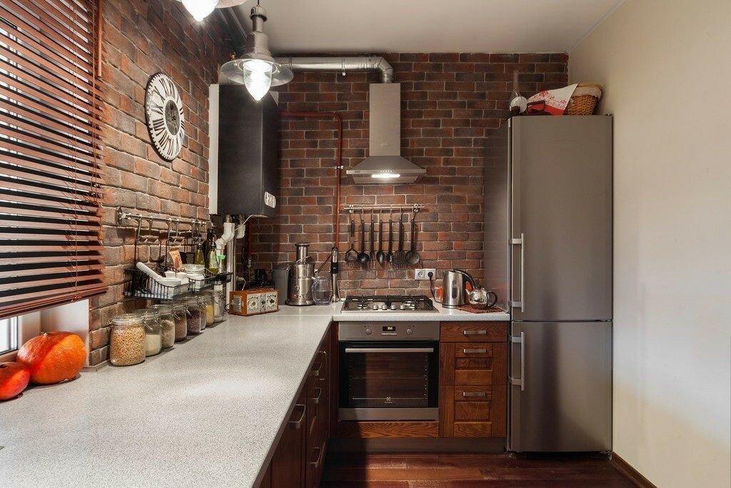 Оформление стен на кухне — яркие и интересные идеи на фото
