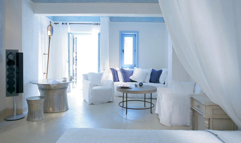 Греческий стиль в дизайне интерьера