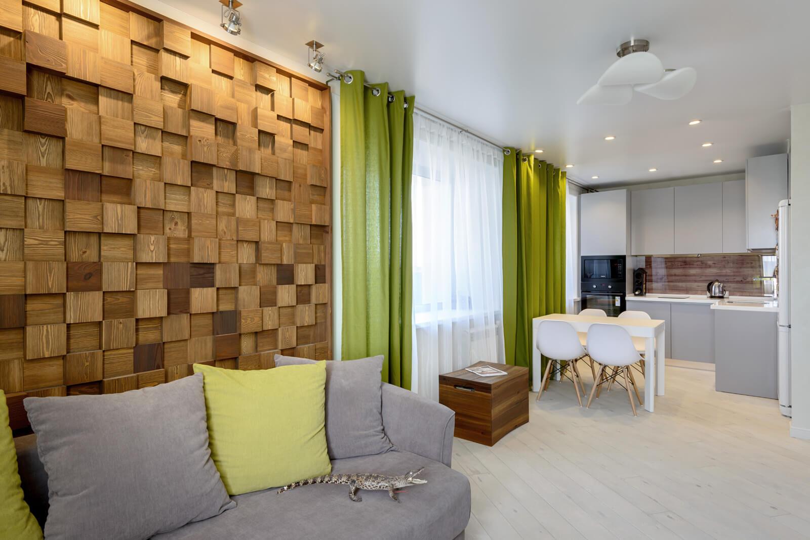 Кухня-гостиная в стиле эко-лофт: фото экостиля в интерьере, идеи для дизайна