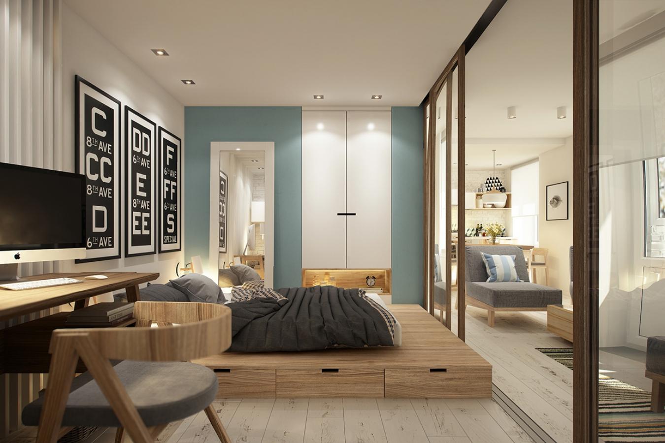 Квартира в стиле хай-тек: эффектная лаконичность