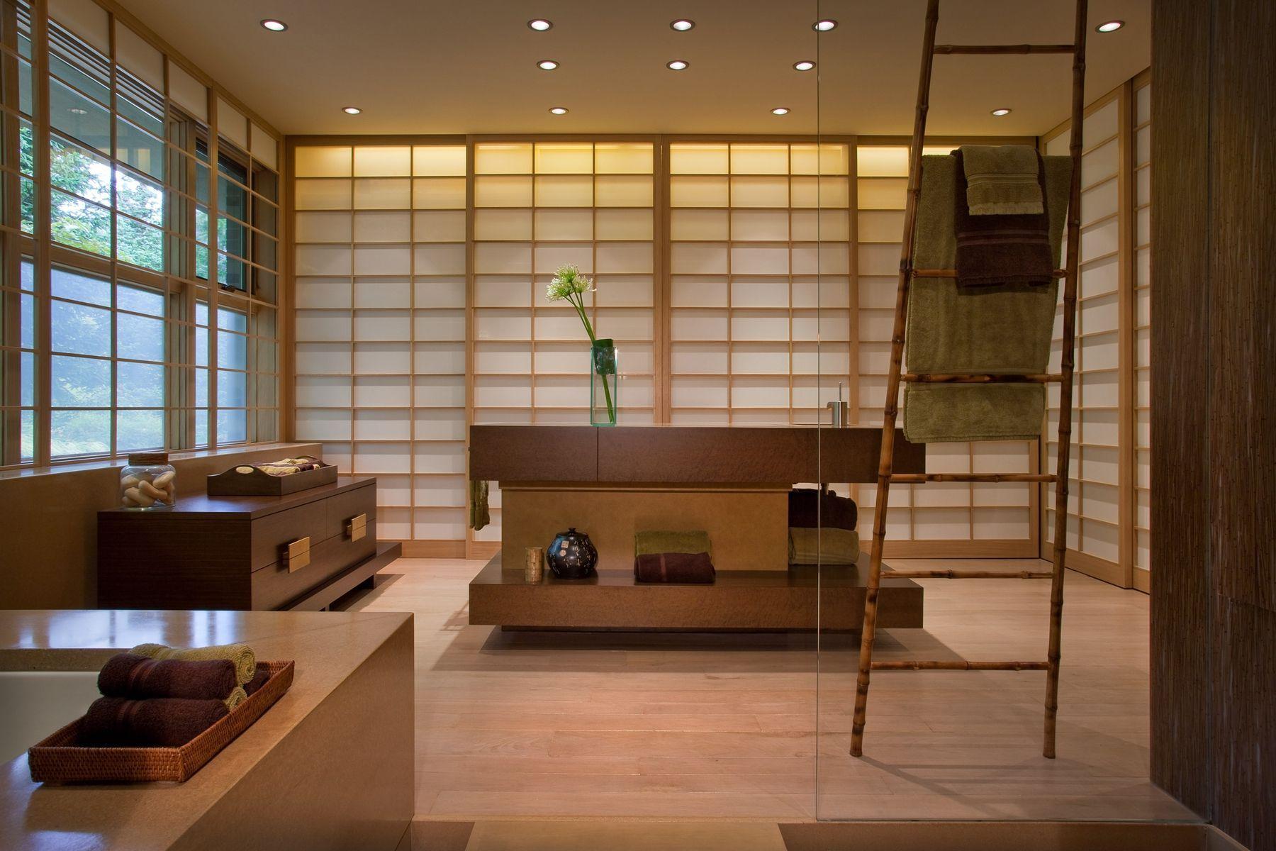 Спальня в японском стиле: интересные идеи, креативные цветовые решения с фото