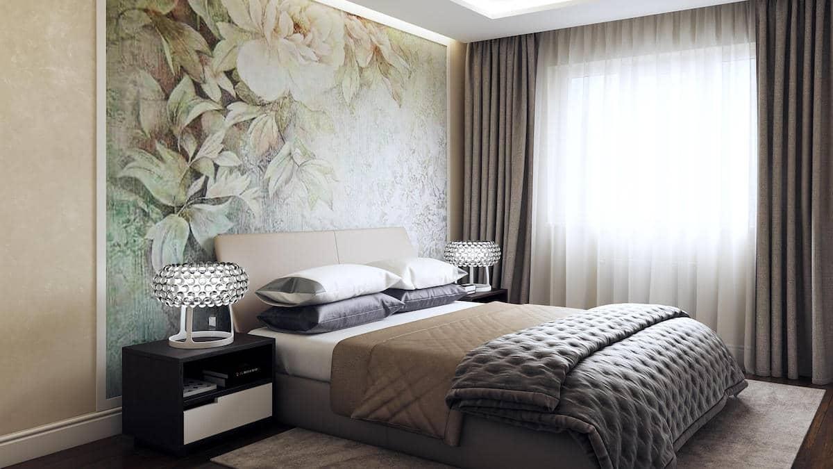 Какие обои выбрать для спальни из всего их многообразия