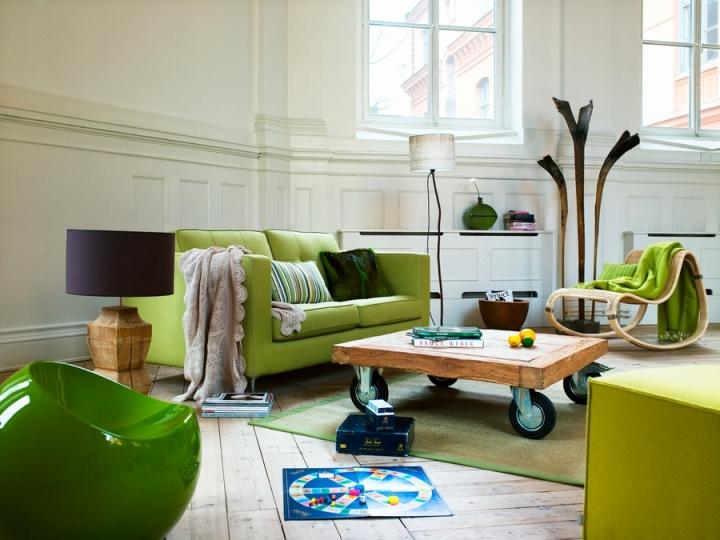 Зеленый цвет в интерьере: разбираемся в оттенках и ищем партнеров