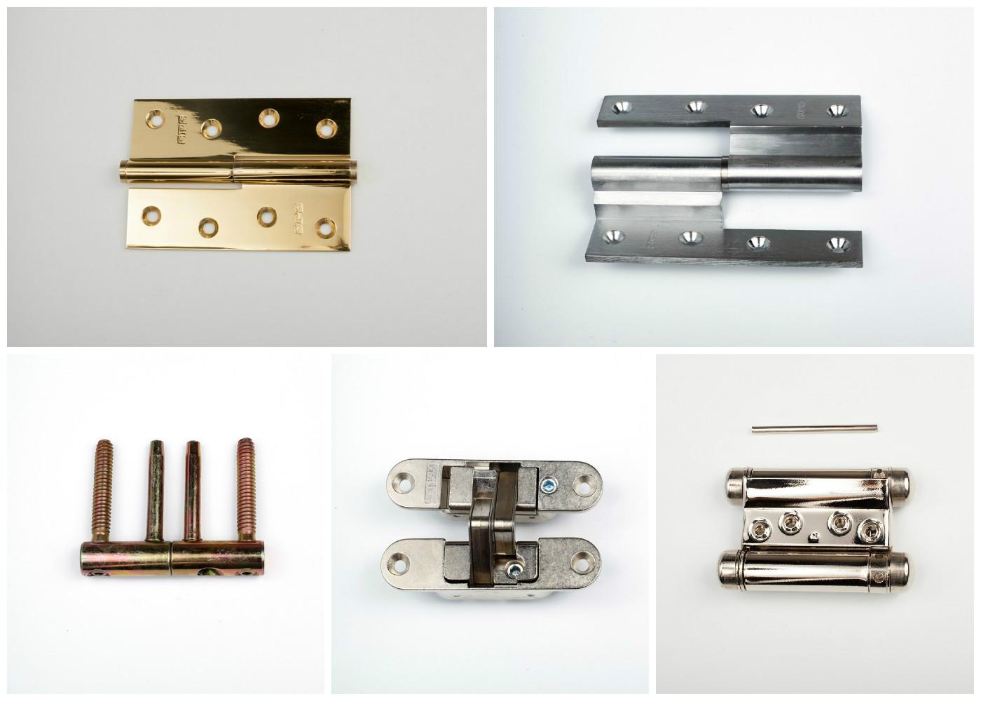 Что такое двухсторонние дверные петли: особенности и установка