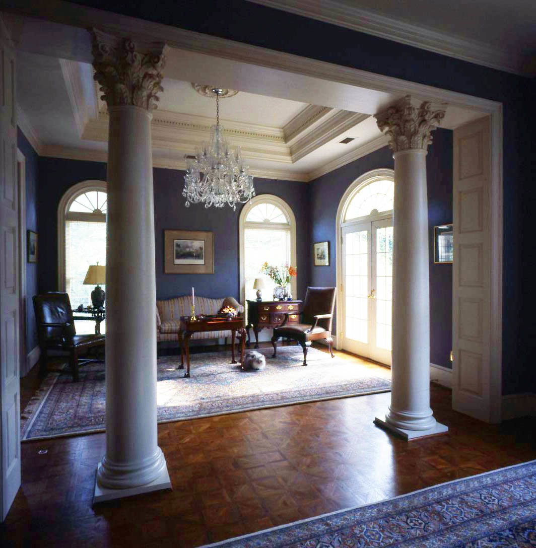 Античный и современный греческий стиль в интерьере квартиры или дома