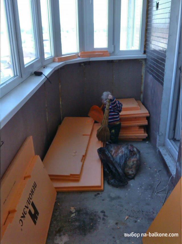 Как и чем утеплить балкон и лоджию своими руками – инструкция с фото