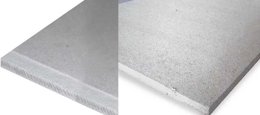 Гипсоволокно или гипсокартон: сравнение материалов и что лучше