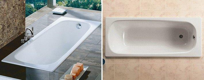 Выбор ванны: чугун или акрил?